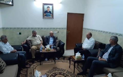 وفد من PDK_S يزور عائلة الشهيد أحمد بونجق
