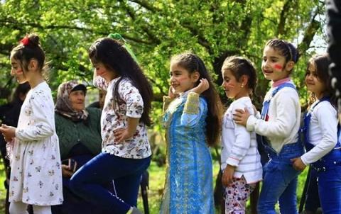 الكورد يحتفلون بعيد نوروز في عفرين