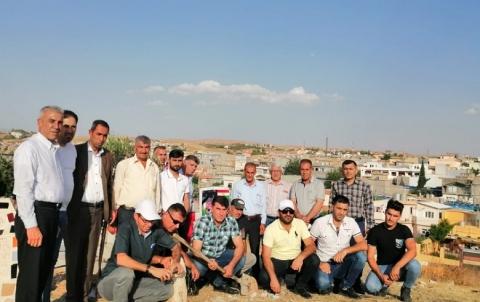 وفد من منظمة قوشتبة للـ PDK-S يزور ضريح الفنان الكوردستاني سعيد كاباري