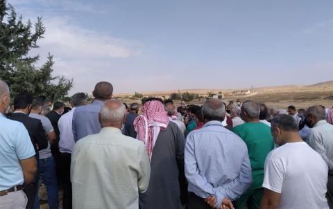 الحزب الديمقراطي الكوردستاني- سوريا يشيع جثمان الكادر السياسي مسعود حمدو