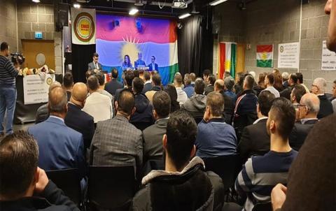 اختتام أعمال الكونفرانس الخامس لمحلية النروج للمجلس الوطني الكوردي في سوريا