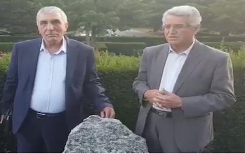 قيادة الديمقراطي الكوردستاني- سوريا تزور ضريح نورالدين زازا