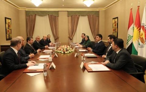 رئاسات الإقلیم الثلاث تطالب جميع الأطراف النأي بإقليم كوردستان عن الصراعات