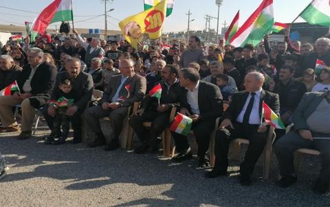 منظمة كوركوسك لـ PDK-S تحتفل بيوم العلم الكوردستاني