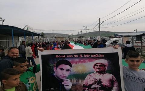 منظمة باسرمة لـ PDK-S تحيي ذكرى انتفاضة قامشلو