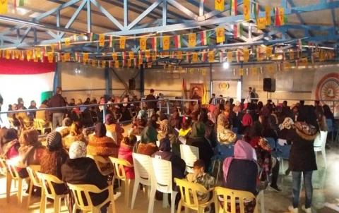 Li Kempa Basirme roja dayikbûna Barzaniyê Nemir hate vejandin
