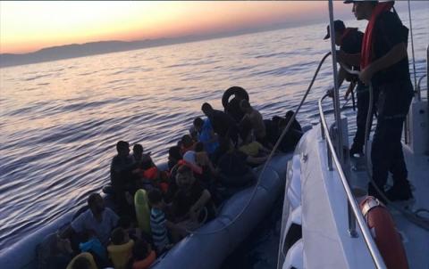 السلطات التركية تضبط 35 سورياً حاولوا الوصول إلى اليونان