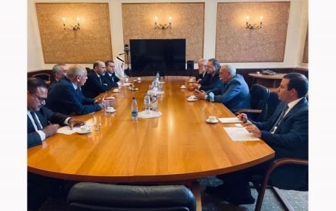 """تصريح """"جبهة"""" السلام والحرية بخصوص اللقاء مع وزارة الخارجية الروسية"""