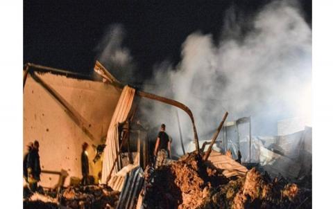 Israîl çend navçeyek li Sûriyê bombebaran kir