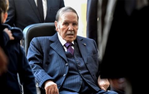 بوتفليقة يعلن ترشحه للانتخابات في الجزائر