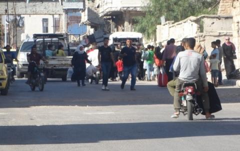 الائتلاف: المجتمع الدولي مطالبٌ بإنقاذ أهل درعا ورفع الحصار عنهم