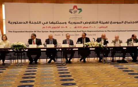 بينهم كوردية.. القائمة الجديدة للمستقلين في هيئة التفاوض السورية