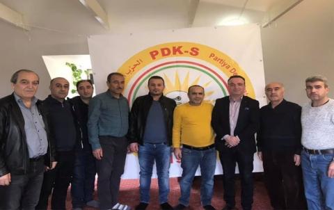 منظمة الدانمارك لـ PDK-S تعقد اجتماعها الاعتيادي