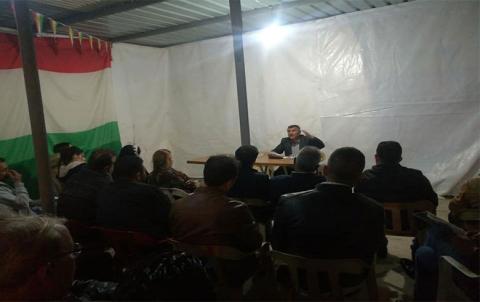 منظمة دهوك لـ PDK-S تقيم محاضرة عن الموقع الجغرافي لكوردستان