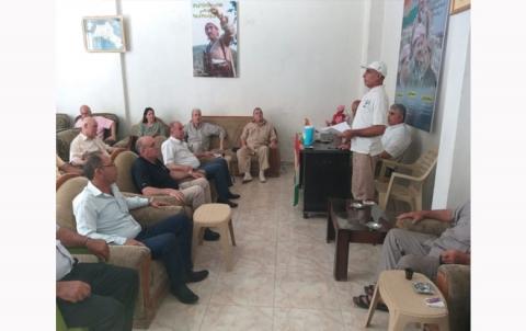 منظمة الدرباسية لـ PDK-S تنظم ندوة سياسية تنظيمية
