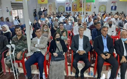 الحزب الديمقراطي الكوردستاني – سوريا يحيي الذكرى السنوية الاولى لرحيل القيادي محمدأمين عباس