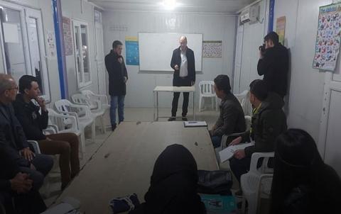لجنة الثقافة والاعلام في منظمة دوميز لـPDK-S تفتتح دورة للعرفاء
