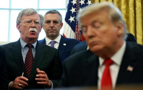 ترامب يقيل مستشار الأمن القومي جون بولتون