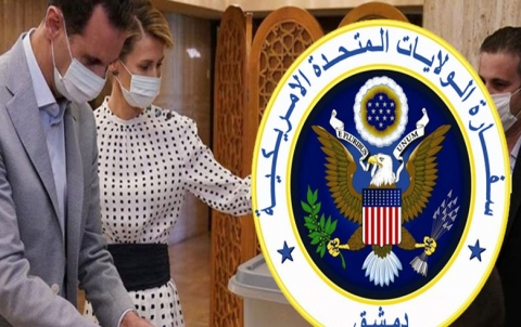 السفارة الأمريكية تبدي موقفها حيال انتخابات برلمان النظام السوري