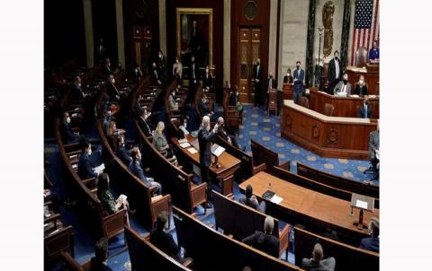 الكونغرس يعلن بايدن رئيسا للولايات المتحدة