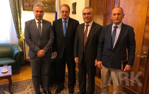 المجلس الوطني الكوردي يبحث مع بوغدانوف آخر المستجدات والتطورات في كوردستان سوريا