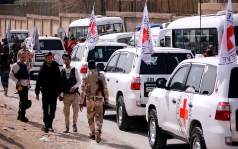 الصليب الأحمر: 22 ألف مفقود منذ بدء الحرب في سوريا