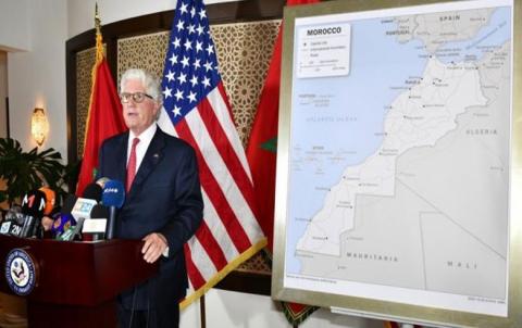 الولايات المتحدة تعتمد خريطة للمغرب تضم الصحراء
