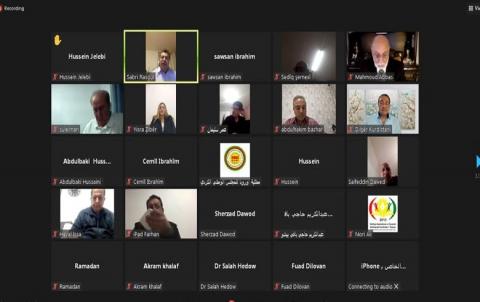 مثلية أوربا للمجلس الوطني الكردي تقيم لقاءاً سياسياً مع نخبة من المثقفين والشخصيات الوطنية في عدد من الدول الاوربية