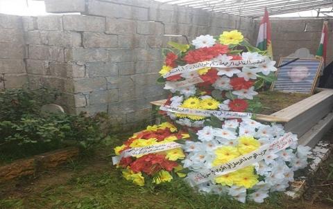 إحياء الذكرى السنوية الـ 15 على استشهاد الشهيد فرهاد محمد في قامشلو