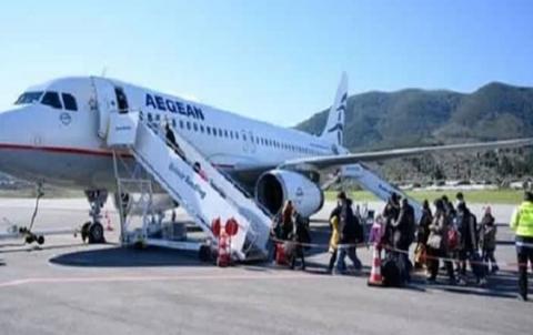 وصول 120 لاجئاً إلى ألمانيا قادمين من جزر اليونان