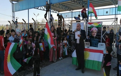 منظمة كويلان لـ PDK-S تحتفل بيوم العلم الكوردستاني