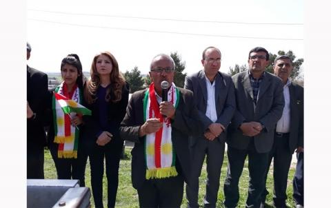 محلية كركي لكي للمجلس الوطني الكوردي تحيي ذكرى انتفاضة قامشلو المجيدة