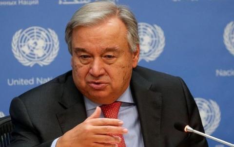 غوتيريش يطلب تمديد تفويض آلية إيصال المساعدات الإنسانية للسوريين عبر تركيا لمدة عام