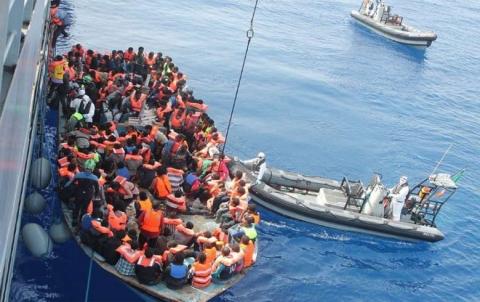 ضبط 134 مهاجرا حاول التسلل من تركيا إلى أوروبا بينهم سوريين