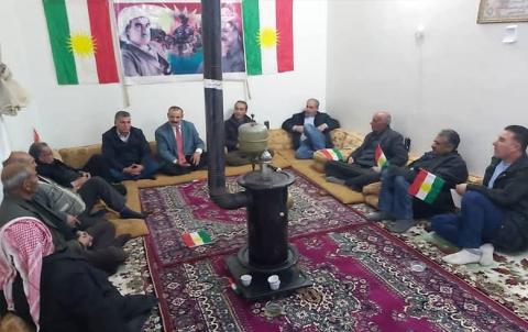 مجلس فرع  كيشكي يعقد اجتماعه الاعتيادي