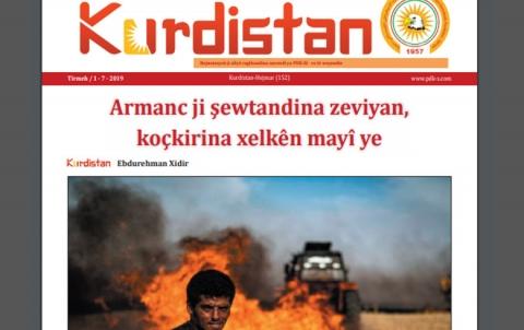 Rojnameya Kurdistan - 152 - Kurdi