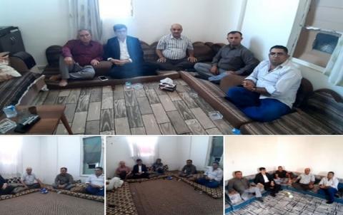 منظمة روژ للـ PDK-S تزور عوائل شهداء بيشمركة روژ