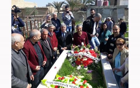 محلية الكورنيش والوسطى تزور مزار الفنان الراحل  محمد شيخو