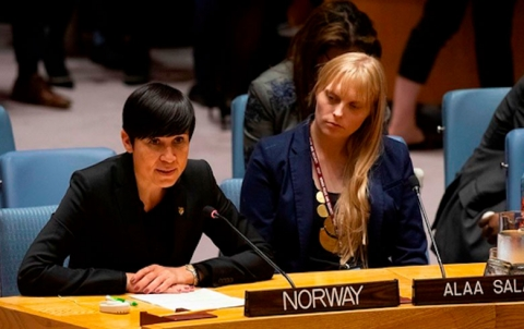 النرويج تدعو لوقف هجمات النظام وروسيا وحماية المدنيين في إدلب