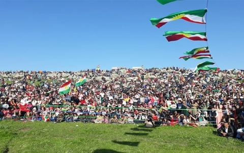 المجلس الوطني الكوردي يحتفل بعيد نوروز في كوردستان سوريا