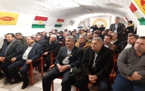 منظمة النمسا للحزب الديمقراطي الكوردستاني- سوريا تحيي يوم العلم الكوردي
