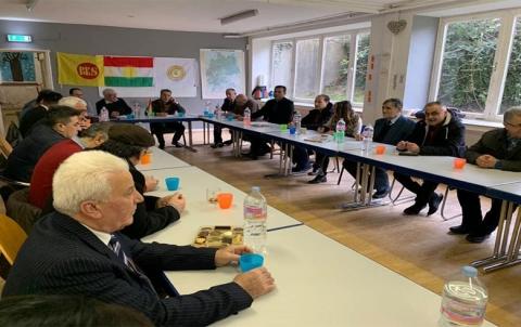 الفرع الرابع لمنظمة PDK-S في ألمانيا يعقد اجتماعه الاعتيادي في مدينة بوخوم
