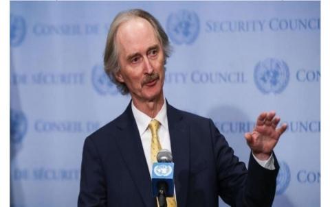 بيدرسون: الأمم المتحدة غير مفوضة بالمشاركة في الانتخابات التي يجريها النظام السوري