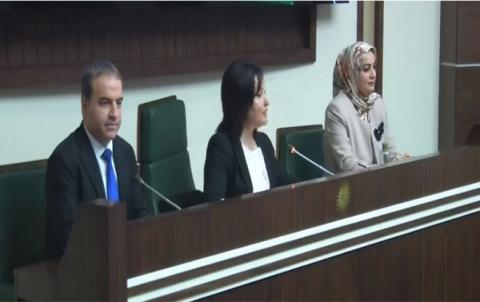 رئاسة برلمان كوردستان الجديدة تتسلم مهامها وتتقدم بأول طلب