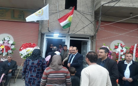 PDK-S یعید فتح مكتبه الشرقي في قامشلو بعد إغلاق استمر لثلاث سنوات
