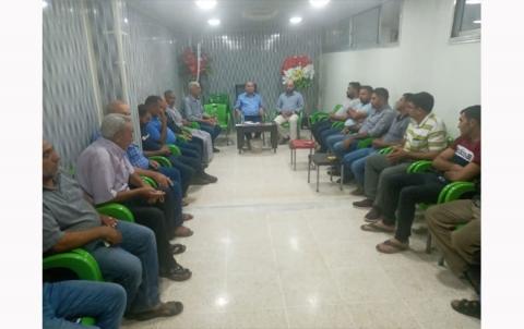 منظمة سري كانية لـ PDK-S تعقد ندوة سياسية في قامشلو
