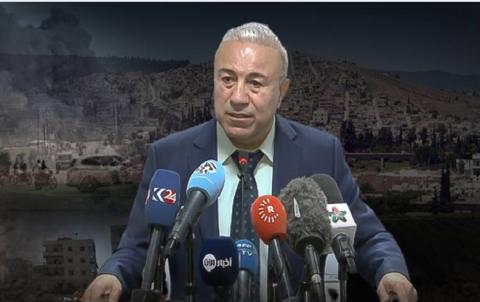 Dr. Ebdulhekîm Beşar: PKKê koçberkiriyên Efrînê weke mertal bi kar tîne