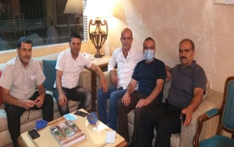 وفد من PDK-S يلتقي مع وفد من مؤسسة  بارزاني  الخيرية في لبنان