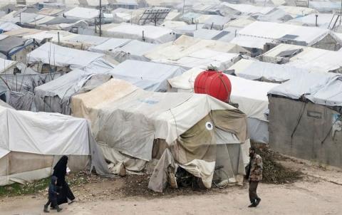 أمريكا تتعهد بتقديم 596 مليون دولار للسوريين
