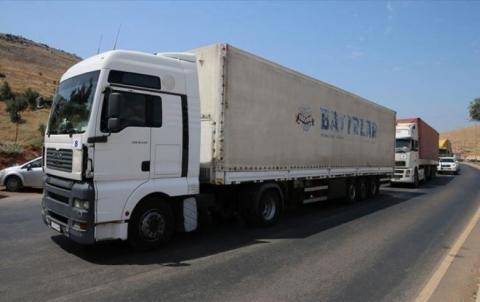 47 شاحنة مساعدات أممية للناحين في محافظة إدلب
